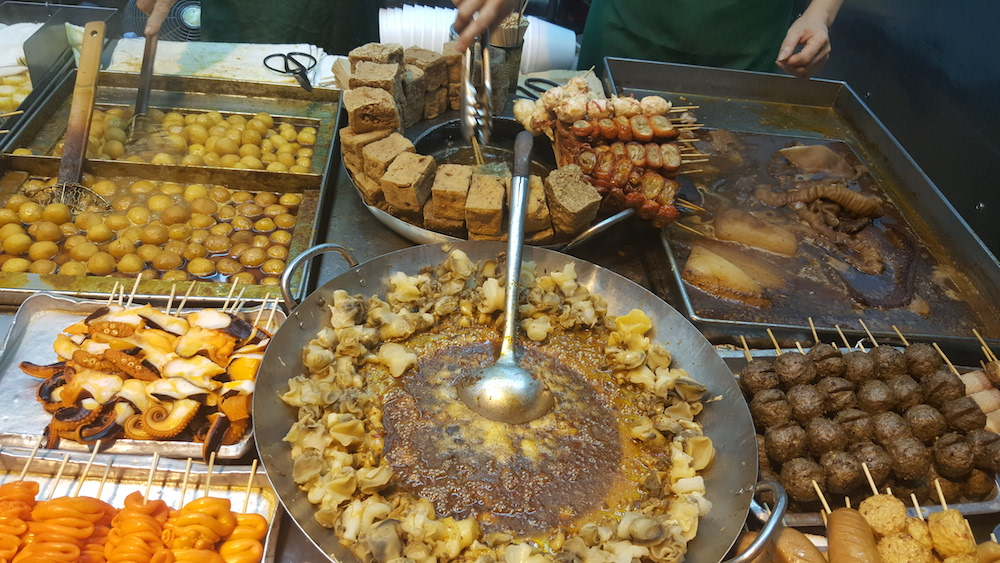 best hong kong street food