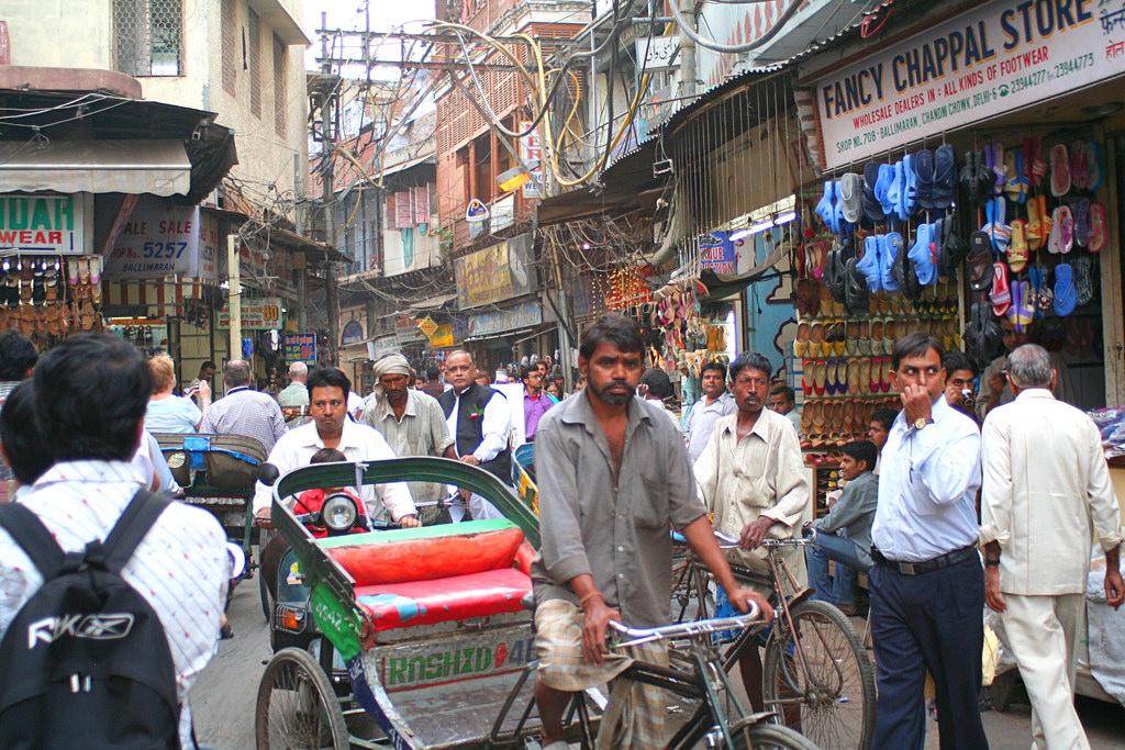 old-delhi quartiers où loger à new delhi