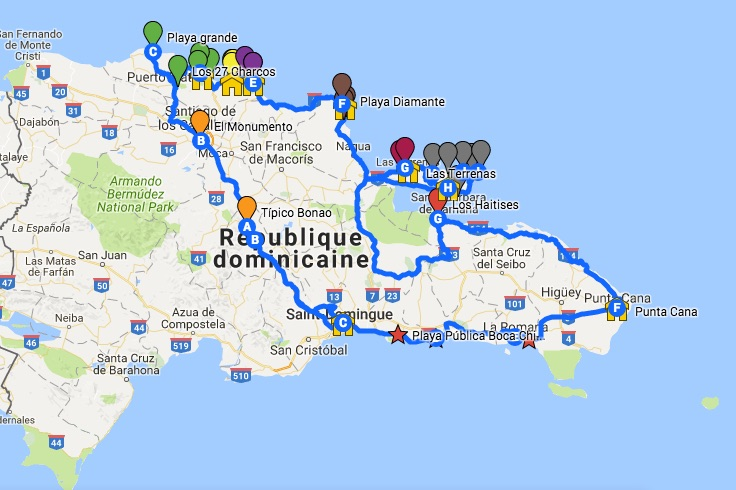dominican-road-trip-itinerary-map