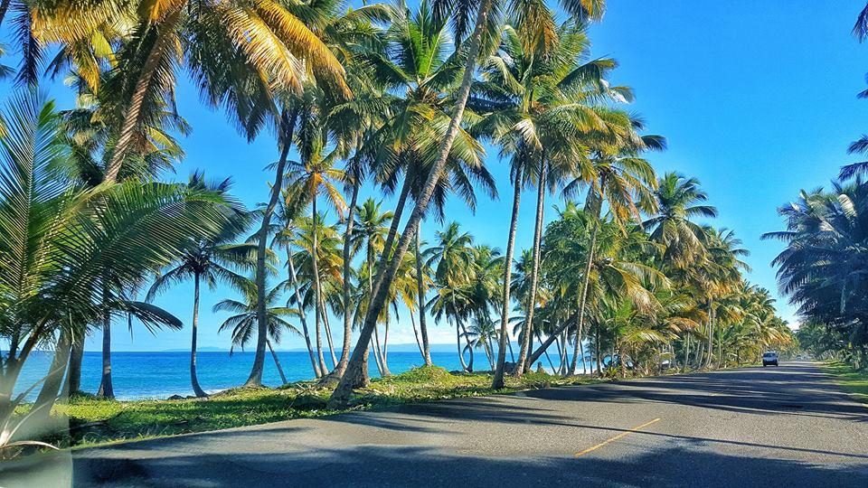 route sosua côte nord république dominicaine