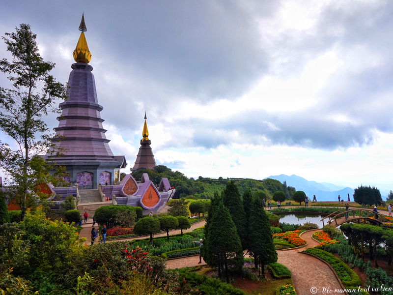Beautiful temples in chiang mai