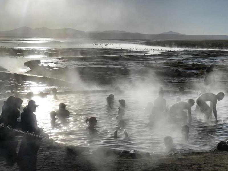 aguas termales de polques, bolivie les incontournables
