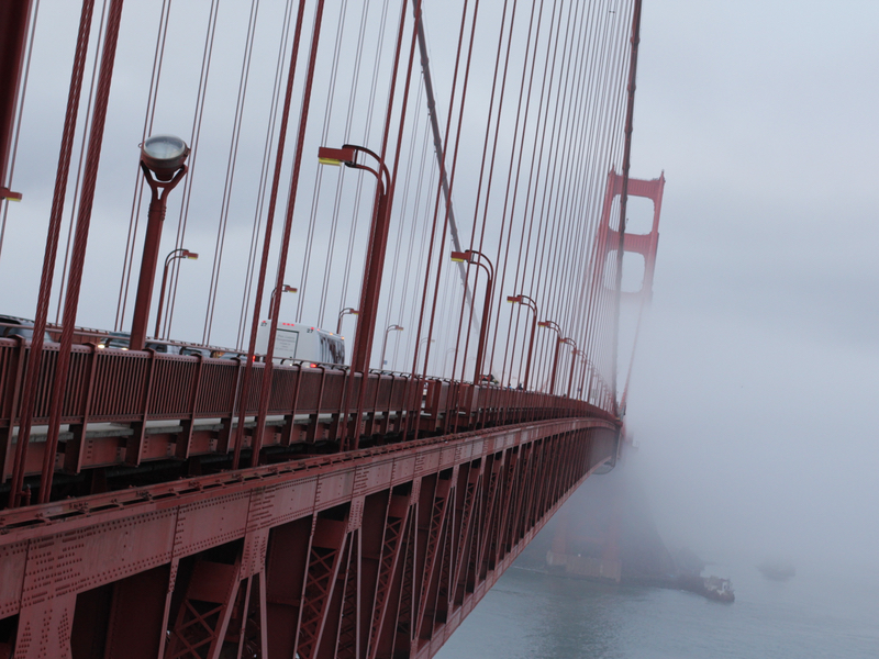San Francisco attractions immanquables Golden Gate Bridge