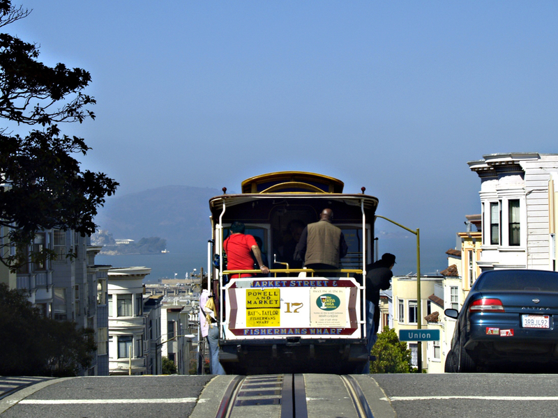 San Francisco Immanquable Cable Car