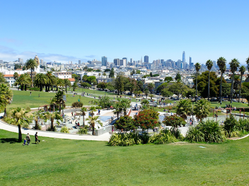 San Francisco les attractions immanquables Dolores Park