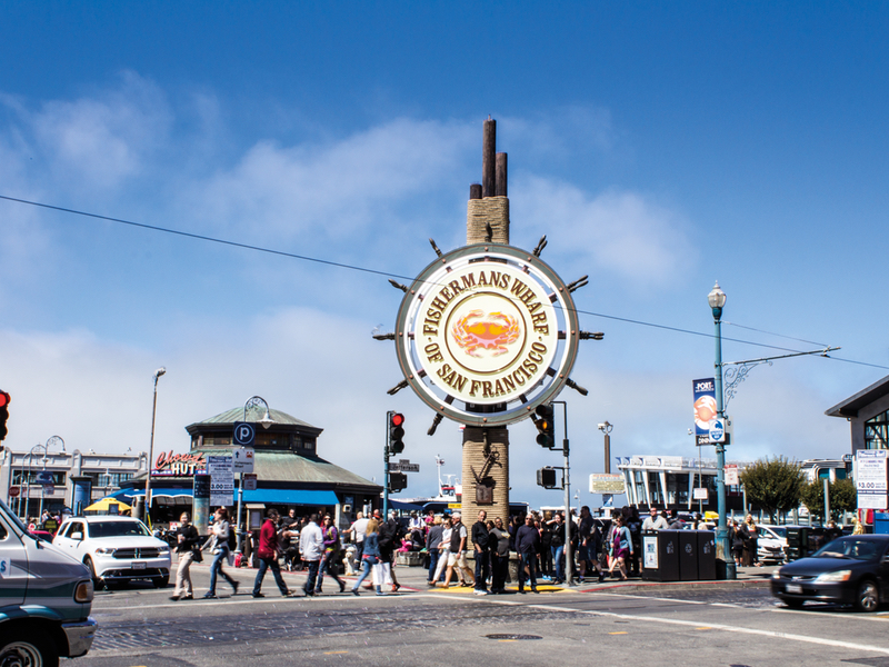 San Francisco attractions immanquables Fishermans Wharf