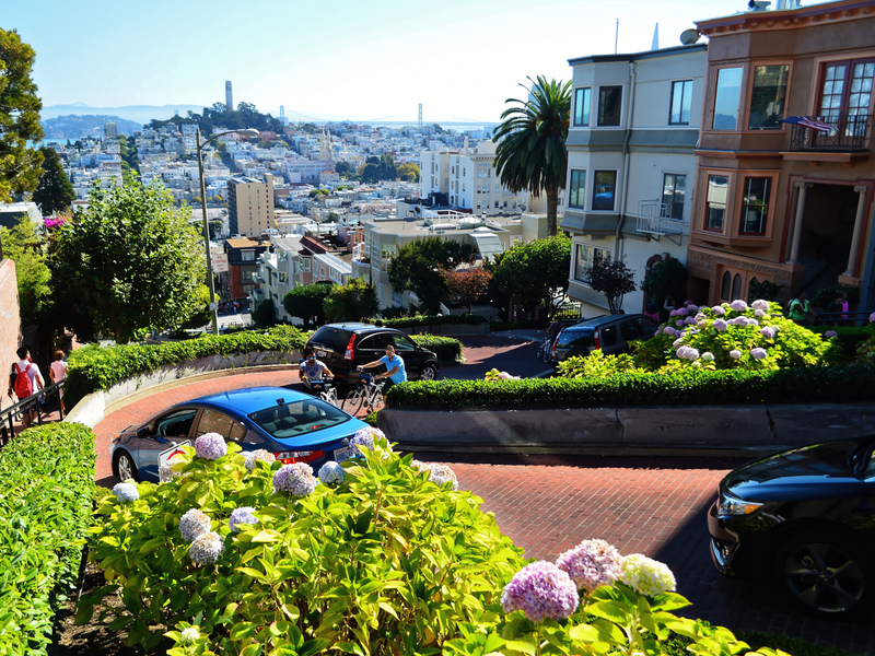 San Francisco Attractions Immanquables Lombard Street