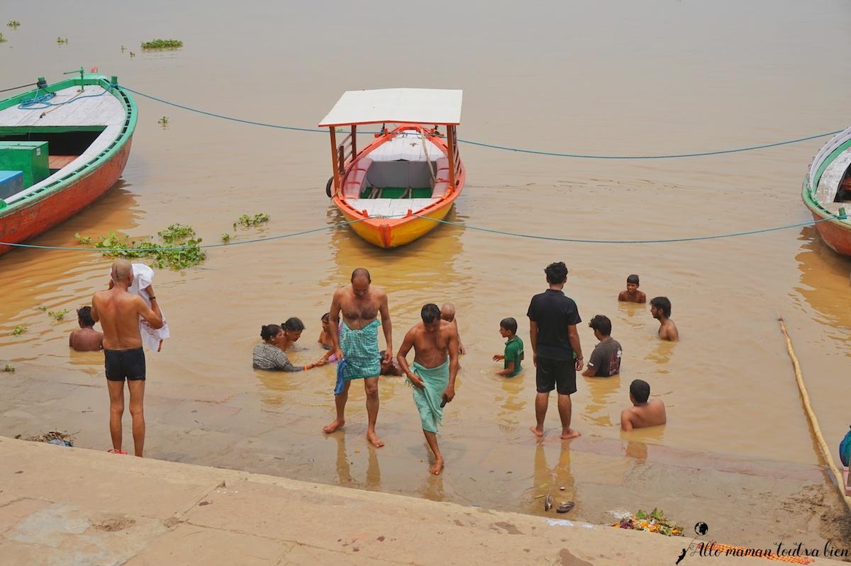 Varanasi the sacred city Assi Gath