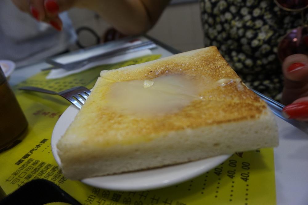 toast au lait concentré-toast hong kong