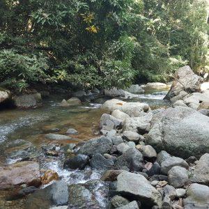 côte nord république dominicaine cascade