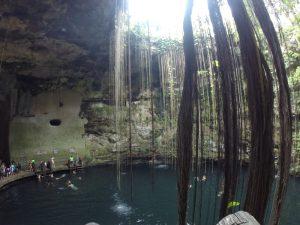 cenote-ik-kil-cancun-to-merida