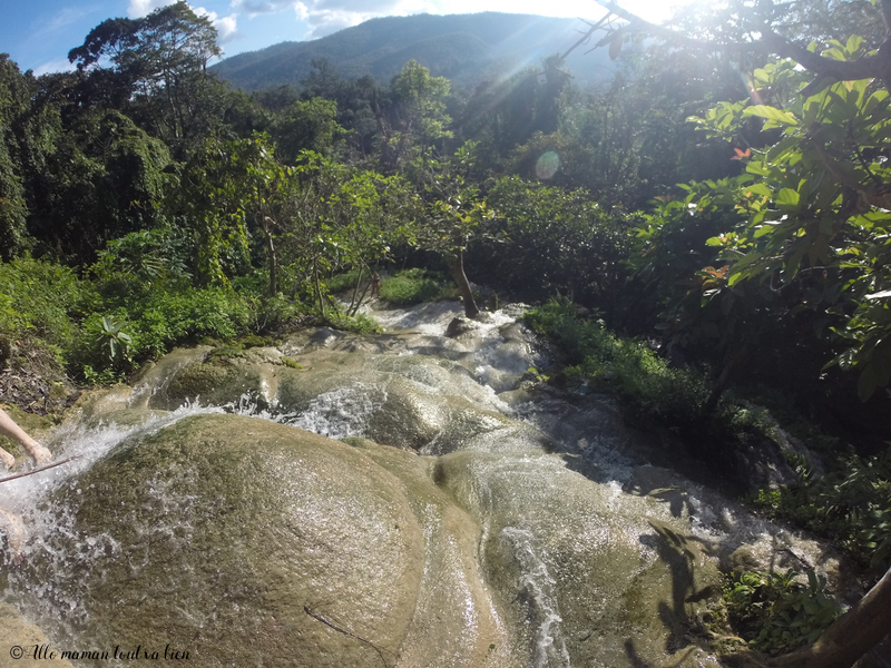 Chiang mai les meilleurs parcs nationaux Sticky Waterfall Si Lanna parc
