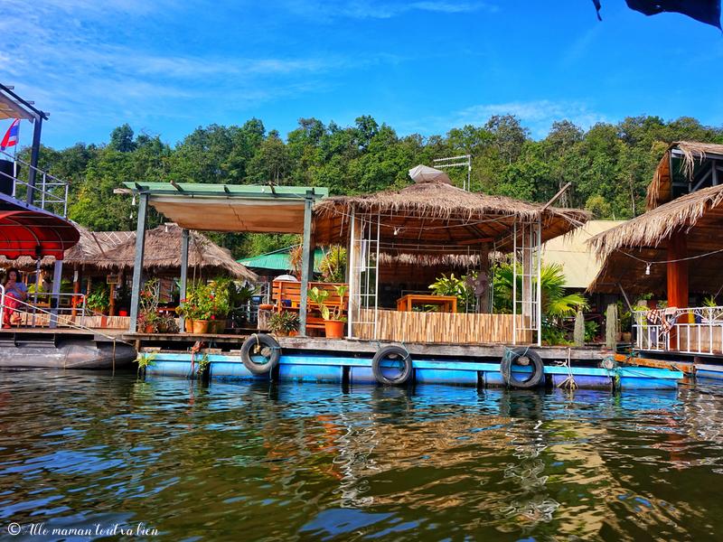 Chiang mai les meilleurs parcs nationaux Si Lanna Parc Maisons Flottantes