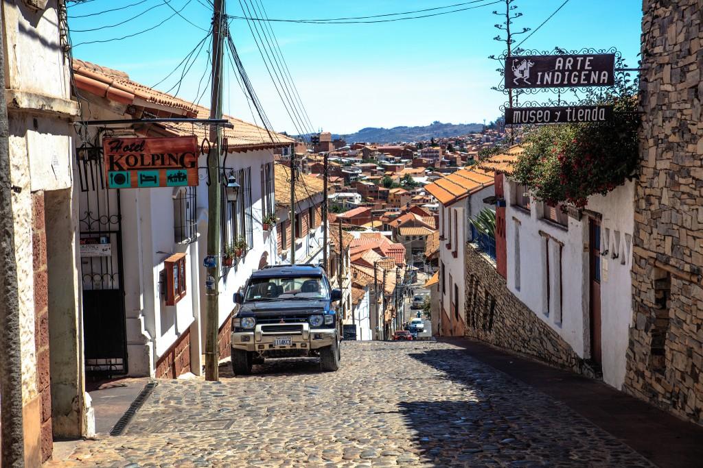 Sucre, Bolivie les incontournables, source muray fobister
