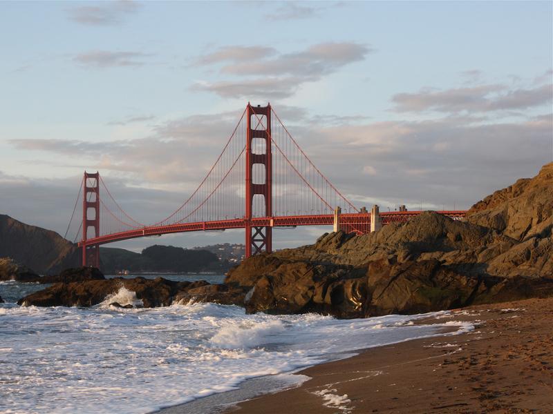 San Francisco les immanquables - Baker Beach