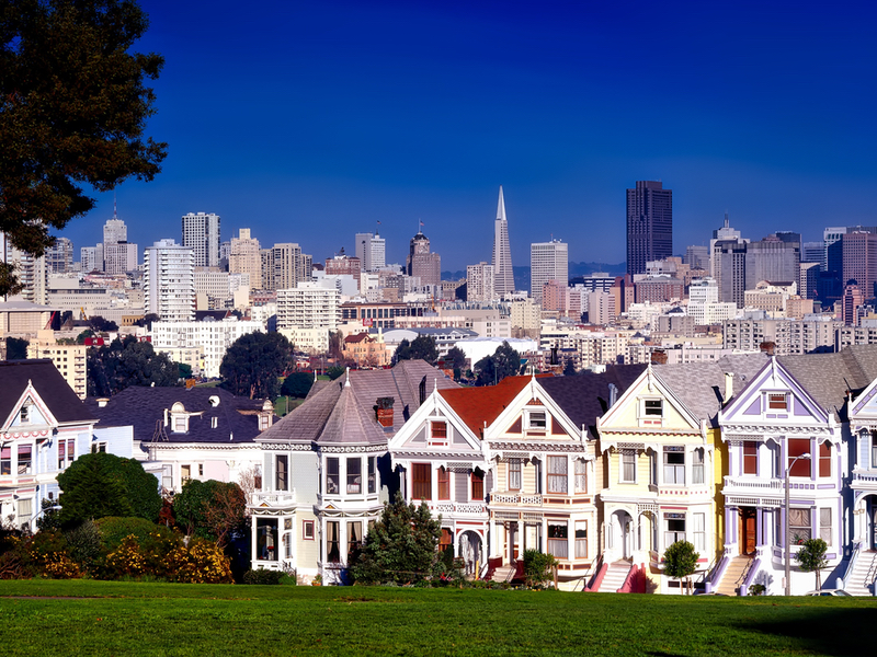 San Francisco attractions immanquables Painted Ladies
